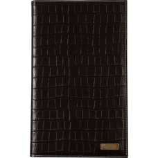 792  Датированный ежедневник Турция, CROCO  кожанный со съемной обложкой, 2 цветовых решения.