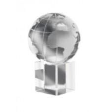 """IT1537-22  Пресс-папье из стекла """"""""Земной шар"""""""